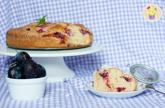 ciasto ze śliwkami, przepis na ciasto ze śliwkami, łatwe ciasto ze śliwkami, przepis na ciasta ze śliwkami