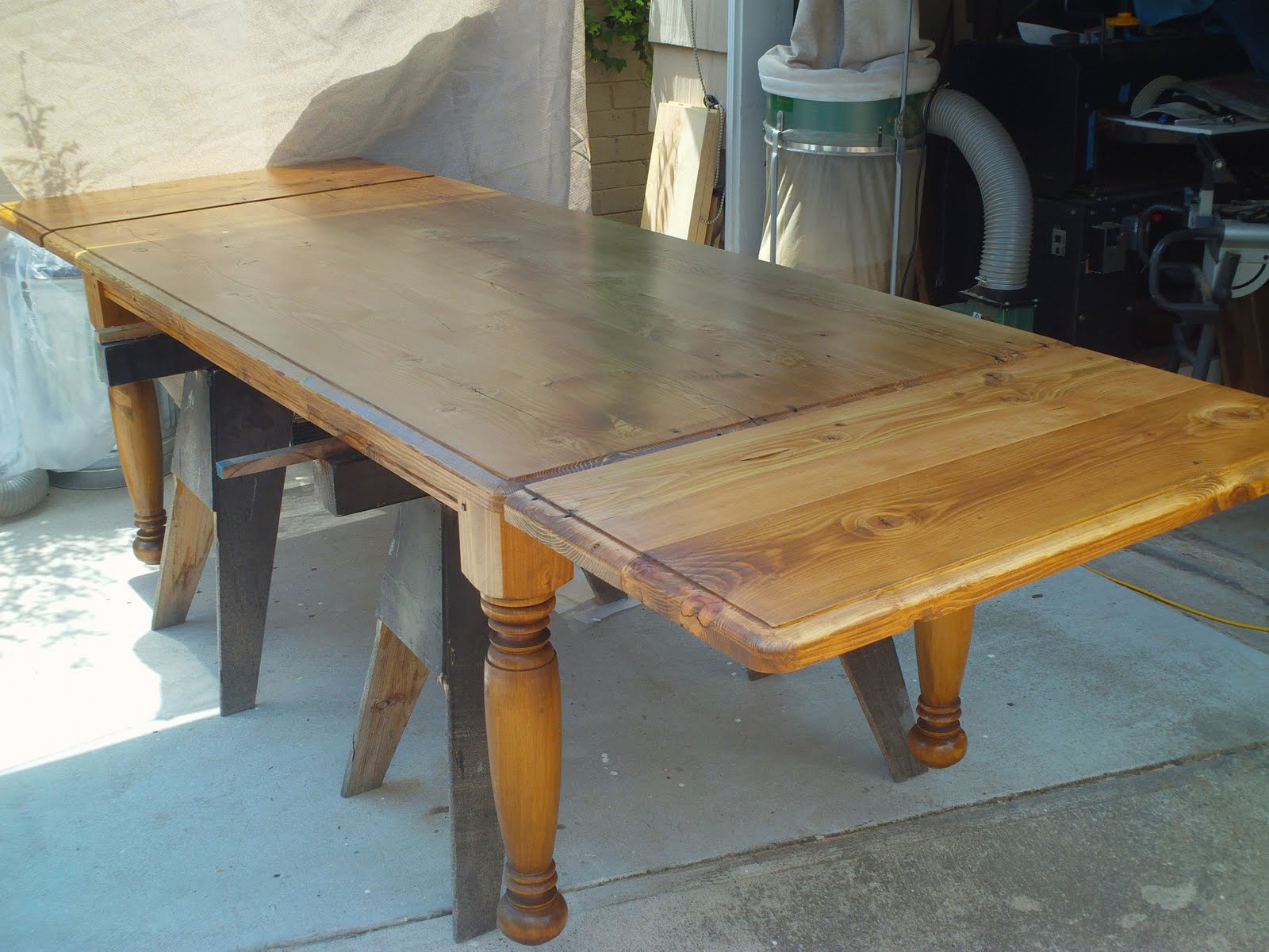 Pine Farm Table with Extensions