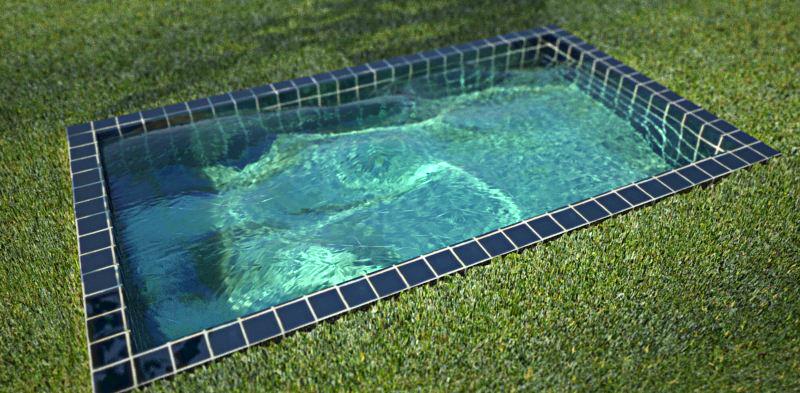 Jong unit 15 water caustics sketchup vray for Pool design sketchup
