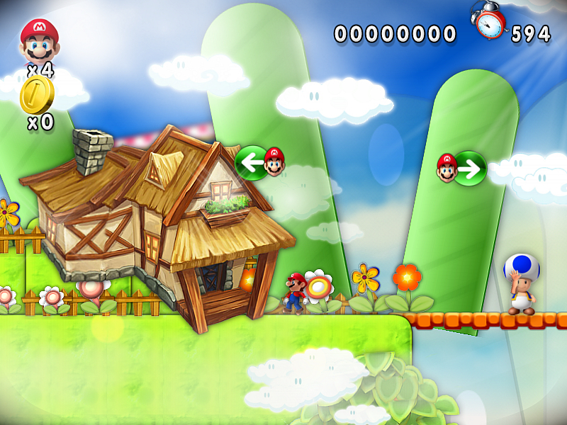 new super mario forever 2012 online game
