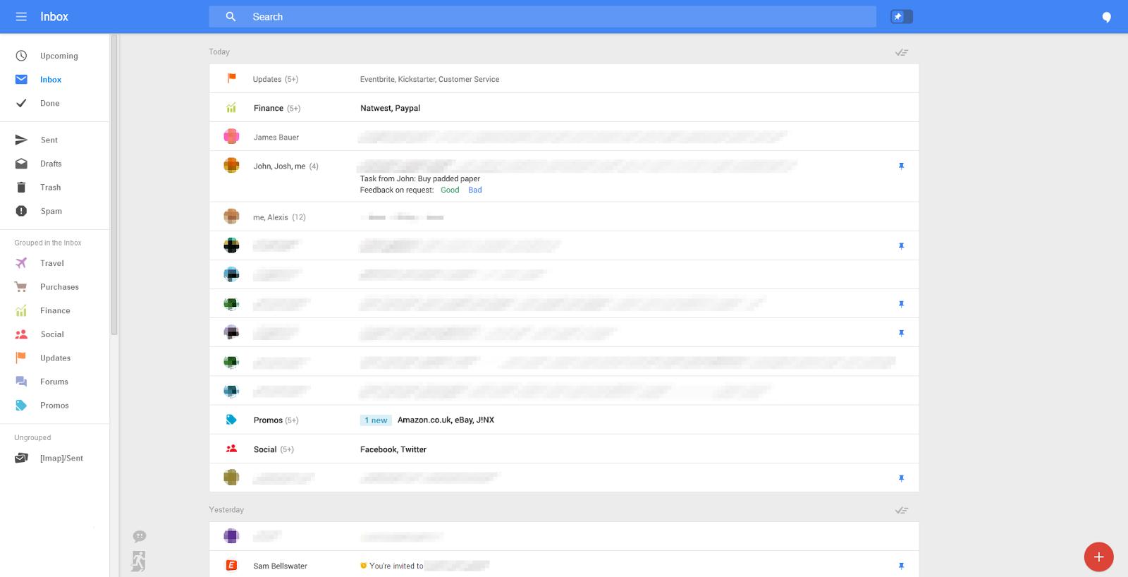 Gmail редизайн