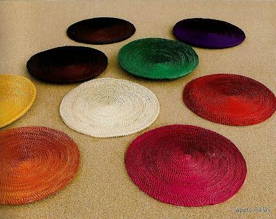 tapete de palha-esteira redonda de palha-artesanato de palha de piaçava-artesanato da Bahia-trança de piaçava-artesanato indígena