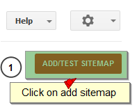 Submit Blogger Sitemap to Google Webmaster Tool
