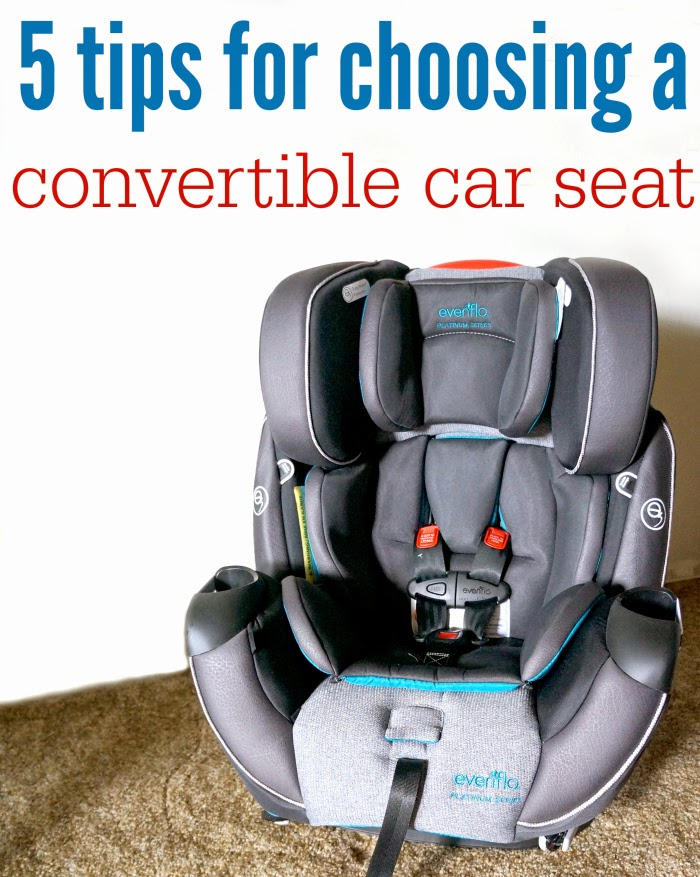 5 Tips for Choosing a Convertible Car Seat // livingmividaloca.com #evenfloplatinum