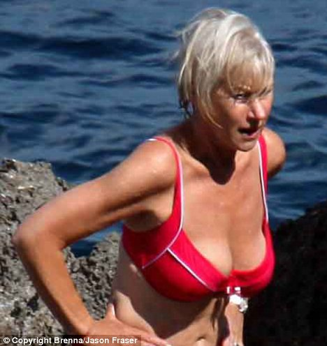Helen-Mirren-bikini When the couple first visited the nearby village of ...