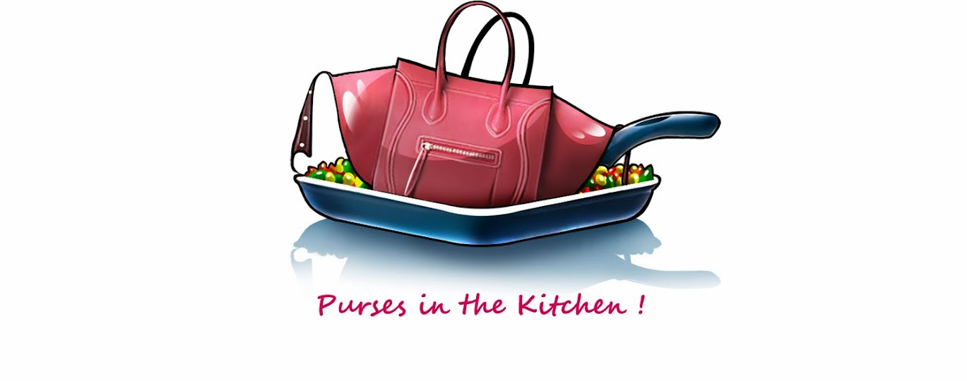 Purses in the Kitchen