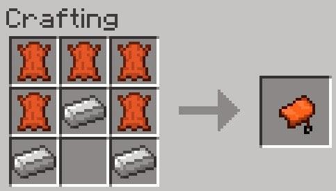 Mo' Creatures crafting silla de montar Minecraft mod