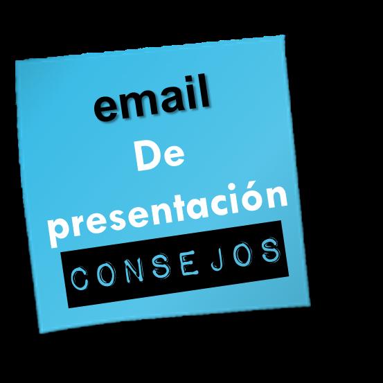 email presentación