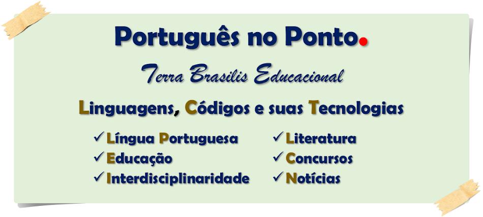 PORTUGUÊS NO PONTO