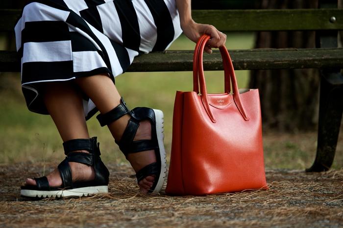 borsa lux bag rossa