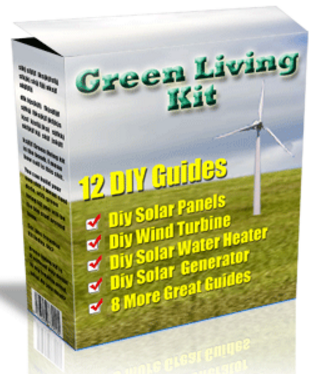 12 BOOKS GREEN LIVING KIT