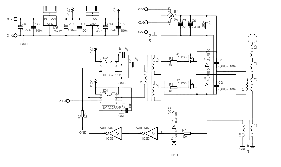 Circuito Bobina De Tesla : Proyecto integrado circuito de la bobina tesla estado