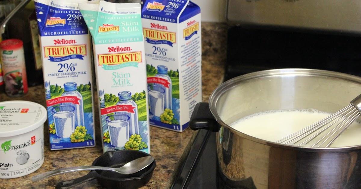how to make homemade yogurt from powdered milk