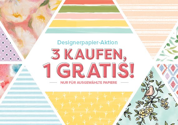 Designerpapier-Aktion im September bei SU!