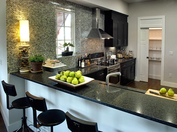 Modern furniture asian kitchen design ideas 2011 from hgtv for Zen style kitchen designs