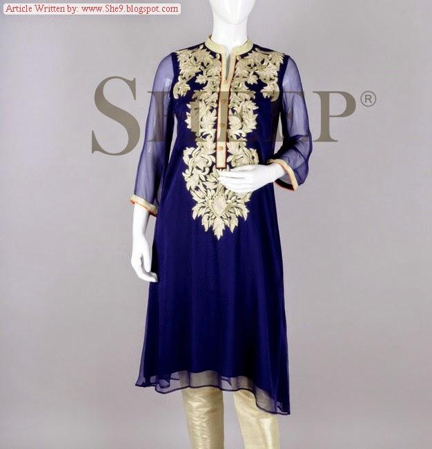 Fancy Pakistani Readymade Formal Dresses