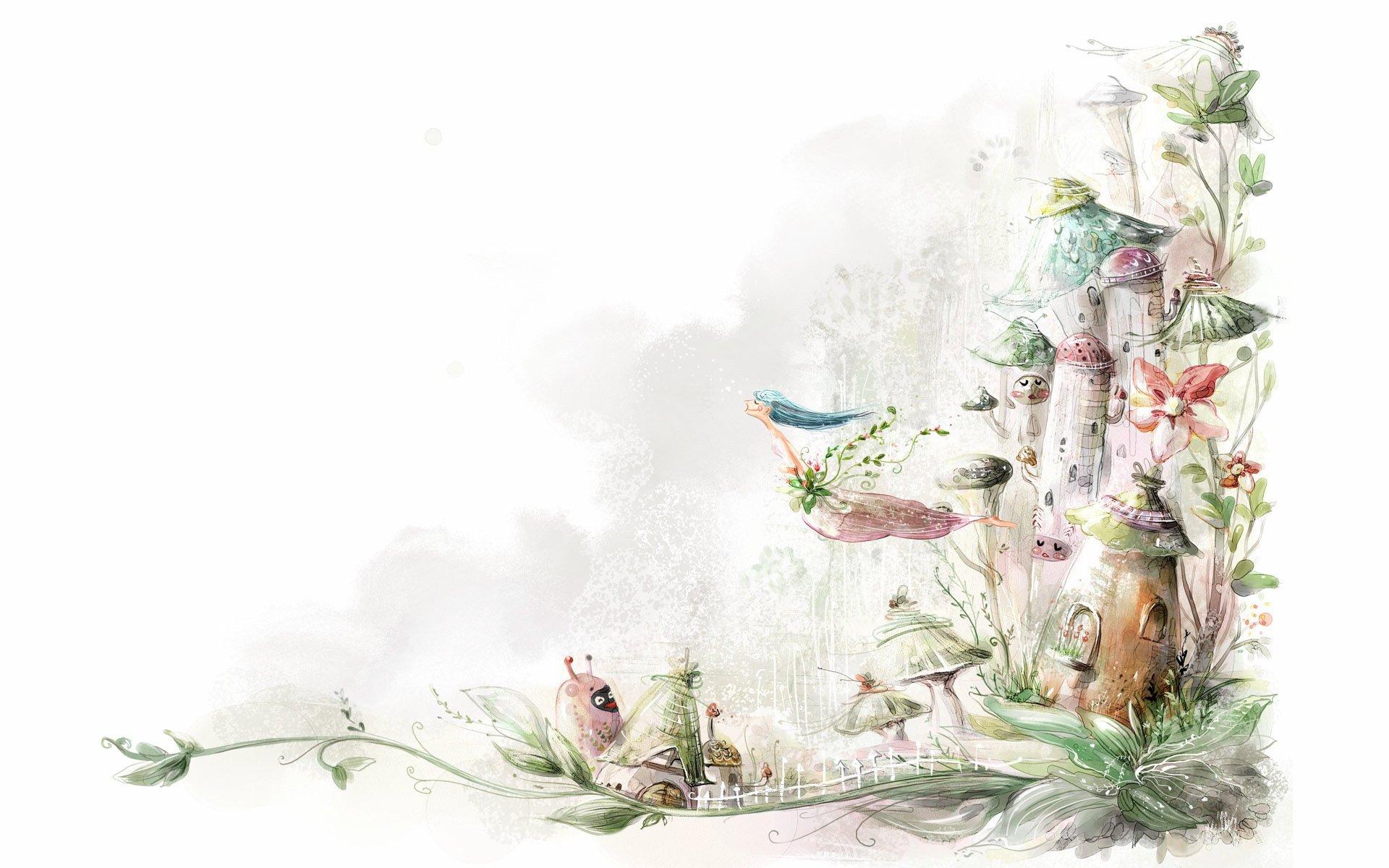 wallpaper: Digital Drawings Wallpapers