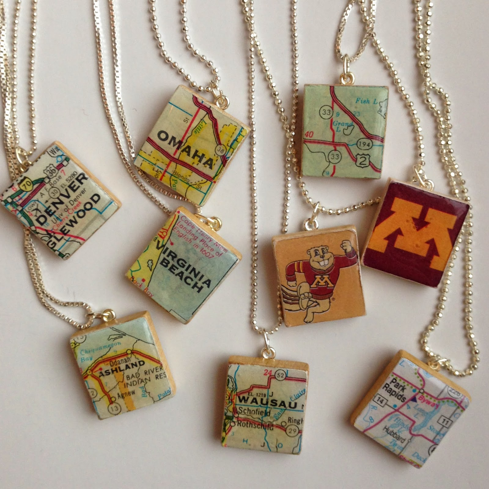 Our hobby house scrabble letter necklace pendants after seeing scrabble tile necklaces at many gift shops i wanted to try making some myself since i had leftover scrabble pieces from my scrabble wall art mozeypictures Images