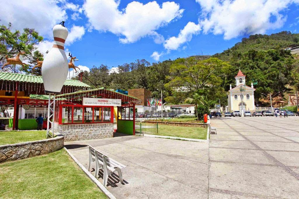 Revitalização da Praça do Suspiro aquece economia de Nova Friburgo RJ