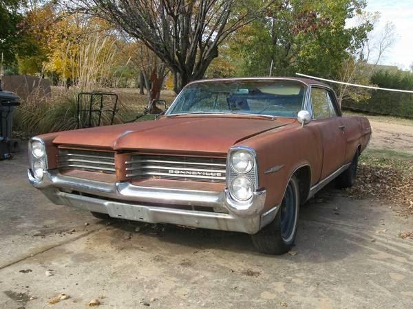 Restoration Project Cars: 1964 Pontiac Bonneville Coupe ...