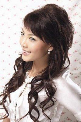 Aquí nuevos ejemplos de Peinados con flequillo para mujeres Asiáticas , 2013.