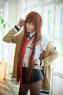 Steins;Fate Makise Kurisu cosplay by Hiokichi