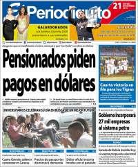 21/11/2019 PRIMERA PAGINA DE EL PERIODIQUITO DE MARACAY