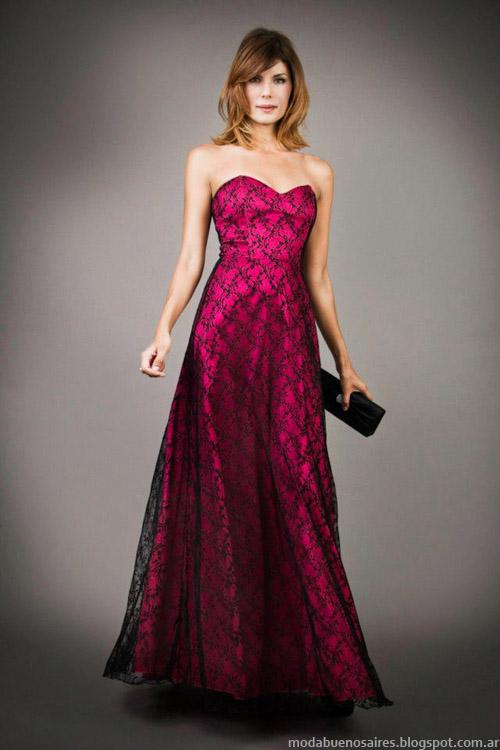 Vestidos de fiesta 2013 moda Veronica Far
