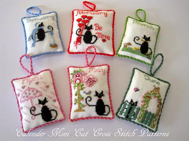Cross Stitch Patterns Free Printable Cats