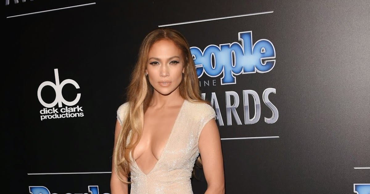 Jennifer Lopez takes the plunge in daring low-cut jumpsuit