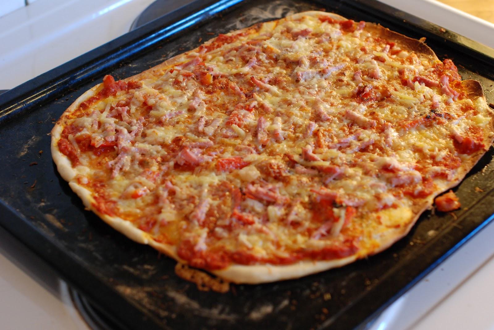 pizzadeig tynn
