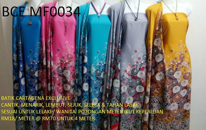 BCE MF0034: BATIK CARTEGENA EXCLUSIVE