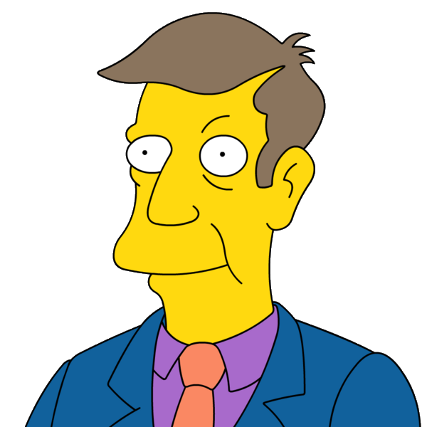 Cartoon Characters: Simpsons PNG pack
