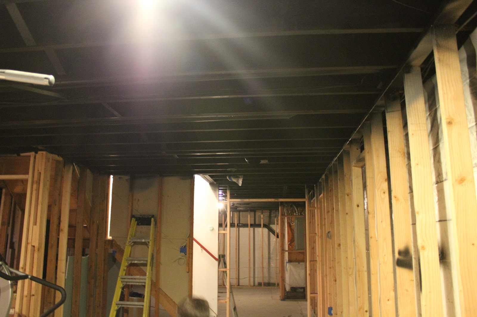 Unfinished basement ceiling paint unfinished basement ceiling paint unfinished basement ceiling paint unfinished basement ceiling paint d dailygadgetfo Images