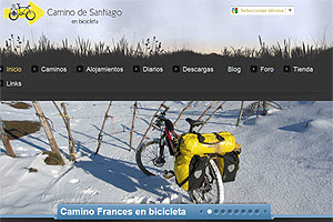 Web de la semana en Jacobeo.net: bicigrino.com