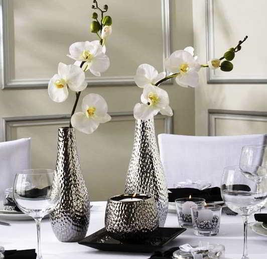 25 model vas bunga unik dari kaca tanah liat bahan bekas keramik. Black Bedroom Furniture Sets. Home Design Ideas