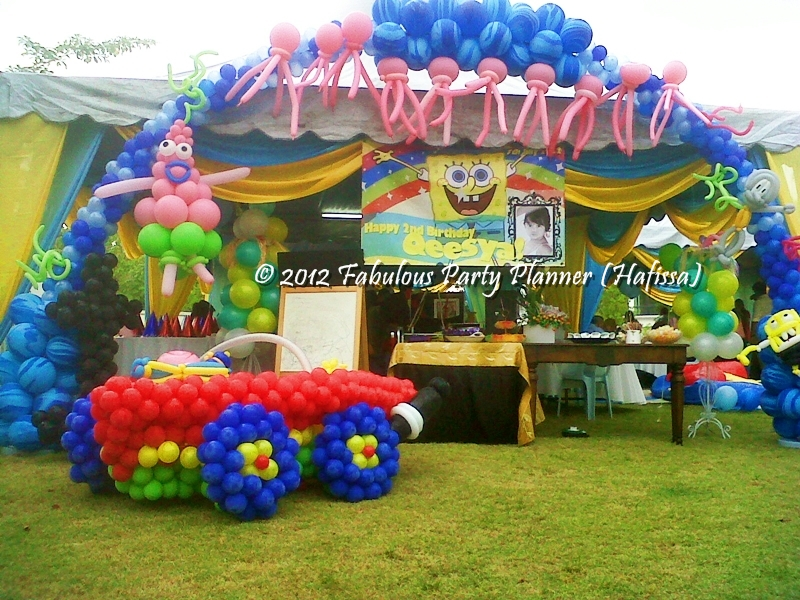 Pin christening balloon decoration package offered for Balloon decoration packages manila
