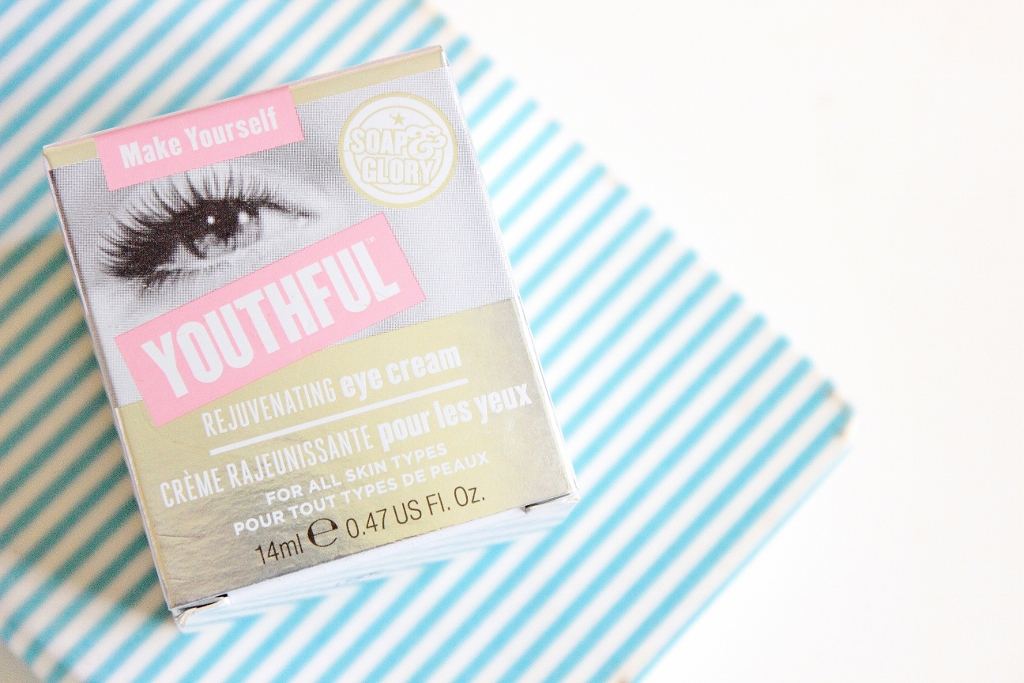 review of  Soap and Glory Make Yourself Youthful Rejuvenating Eyecream