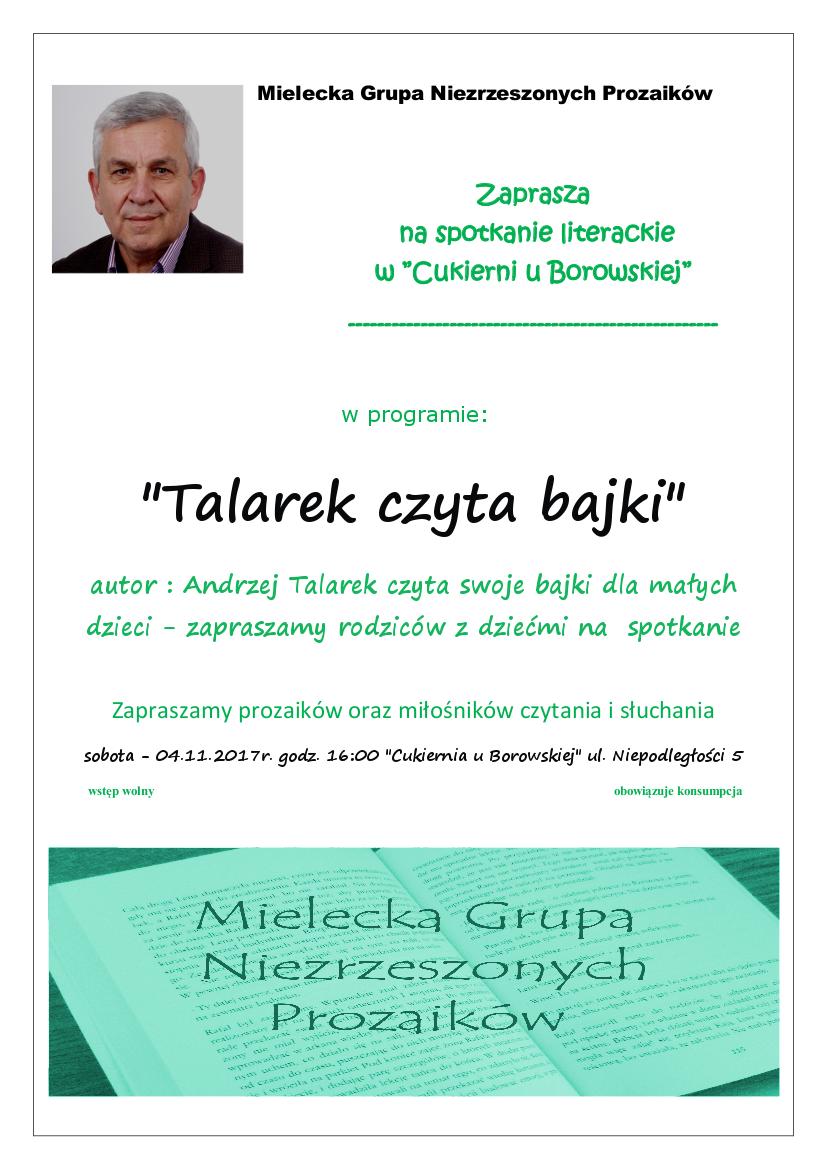 8 spotkanie litrackie A Talarek