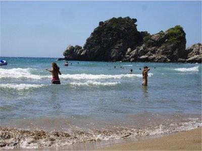 Kontogialos la più bella spiaggia di Corfu