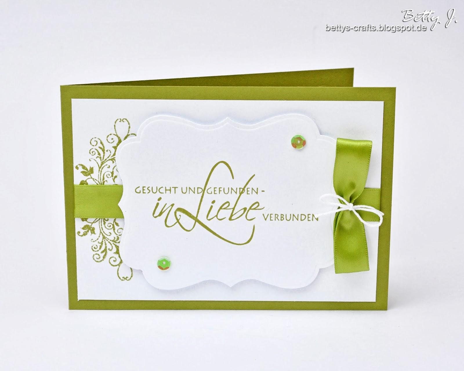 Einladungskarten Richtig Selbst Gestalten So Geht S: Bettys Crafts: Hochzeitsserie
