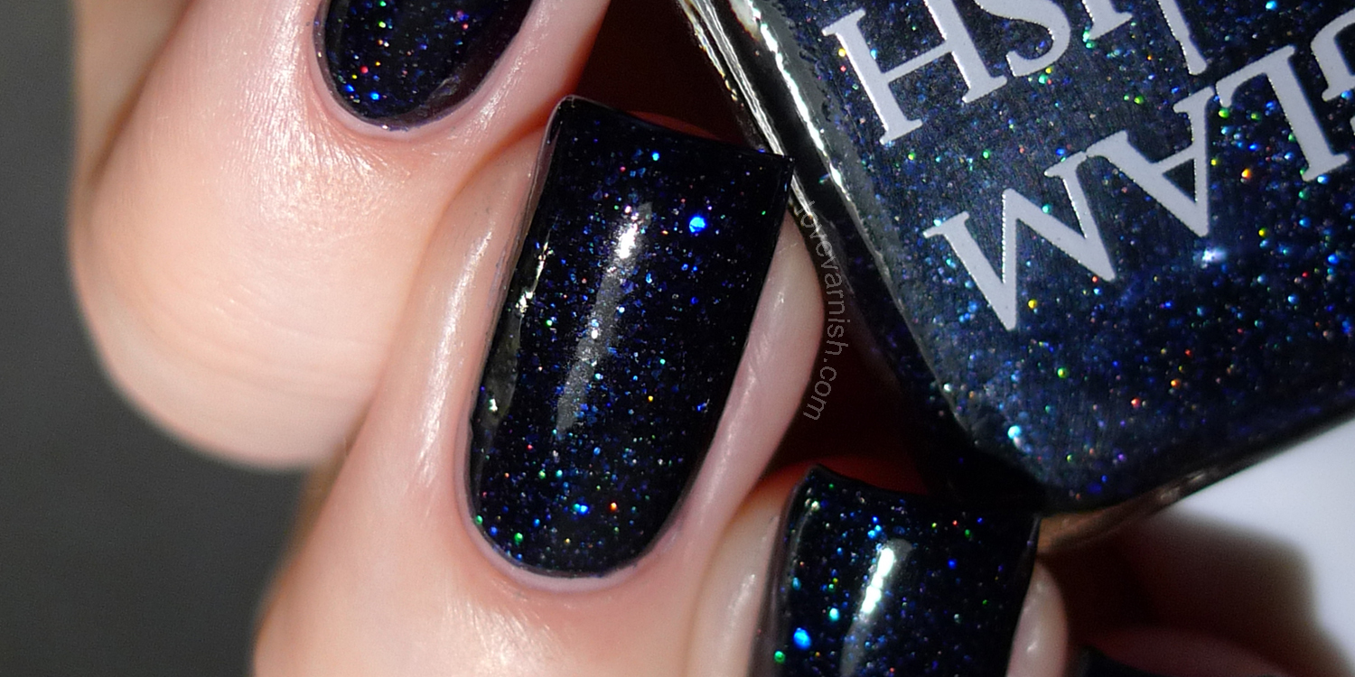 Glam Polish Moonless Night Fatal Attraction exclusive Hypnotic Polish