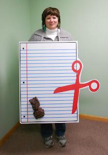 Rock Paper Scissors Halloween Costume - Printed at Banners.com