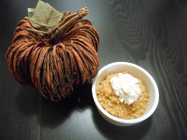 Flavors by Four: Pumpkin Rice Pudding