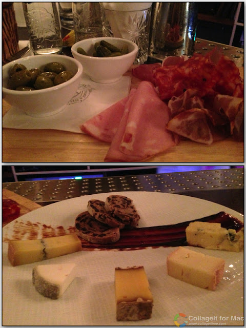 Stitch and Bear - Amsterdam - Selection of food plates at Tales & Spirits