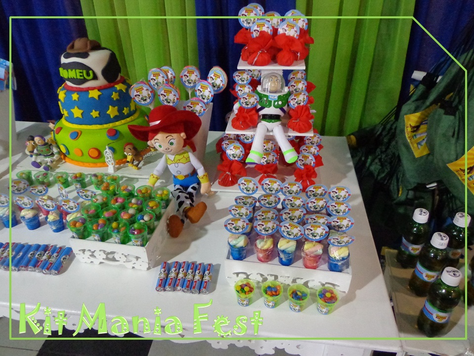 Kit Mania Fest Locação  Festa Toy Store