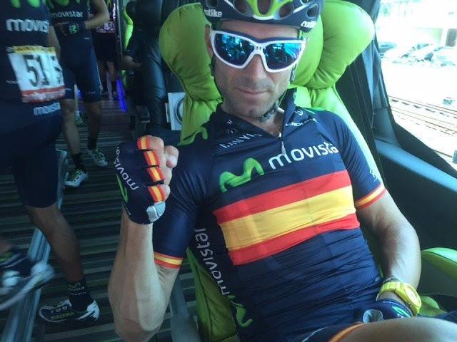 Desastre del Team Movistar en la primera etapa en linea del Tour de Francia