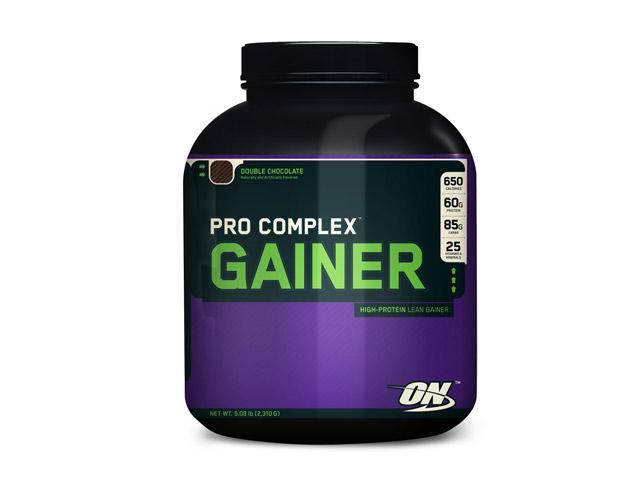Hipercalórico Pro Complex Gainer, da Optimun Nutrition. Foto: Reprodução
