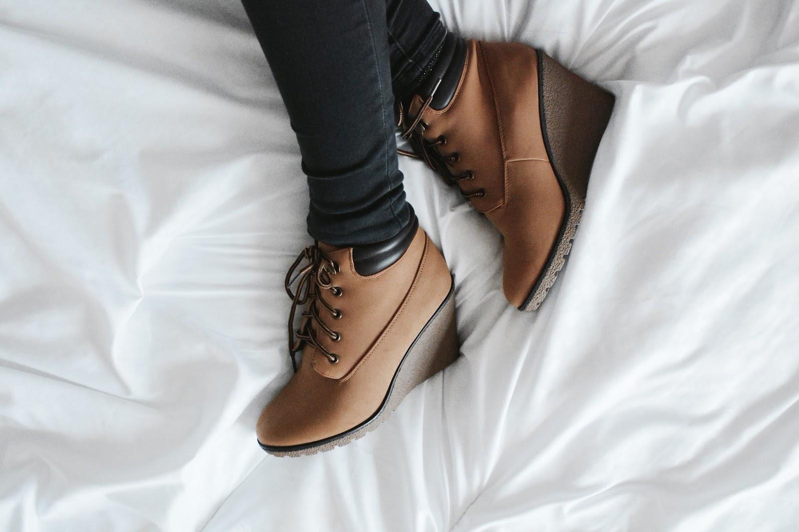 Primary, Primark Haul, Primark Boots, Brown Boots, Wedges, Autumn Boots, Primark wedge boots,