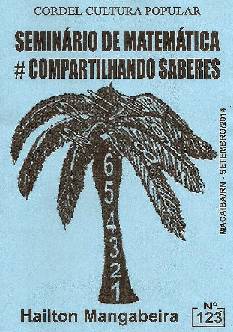 Cordel: Seminário de Matemática, nº 123, Setembro/2014